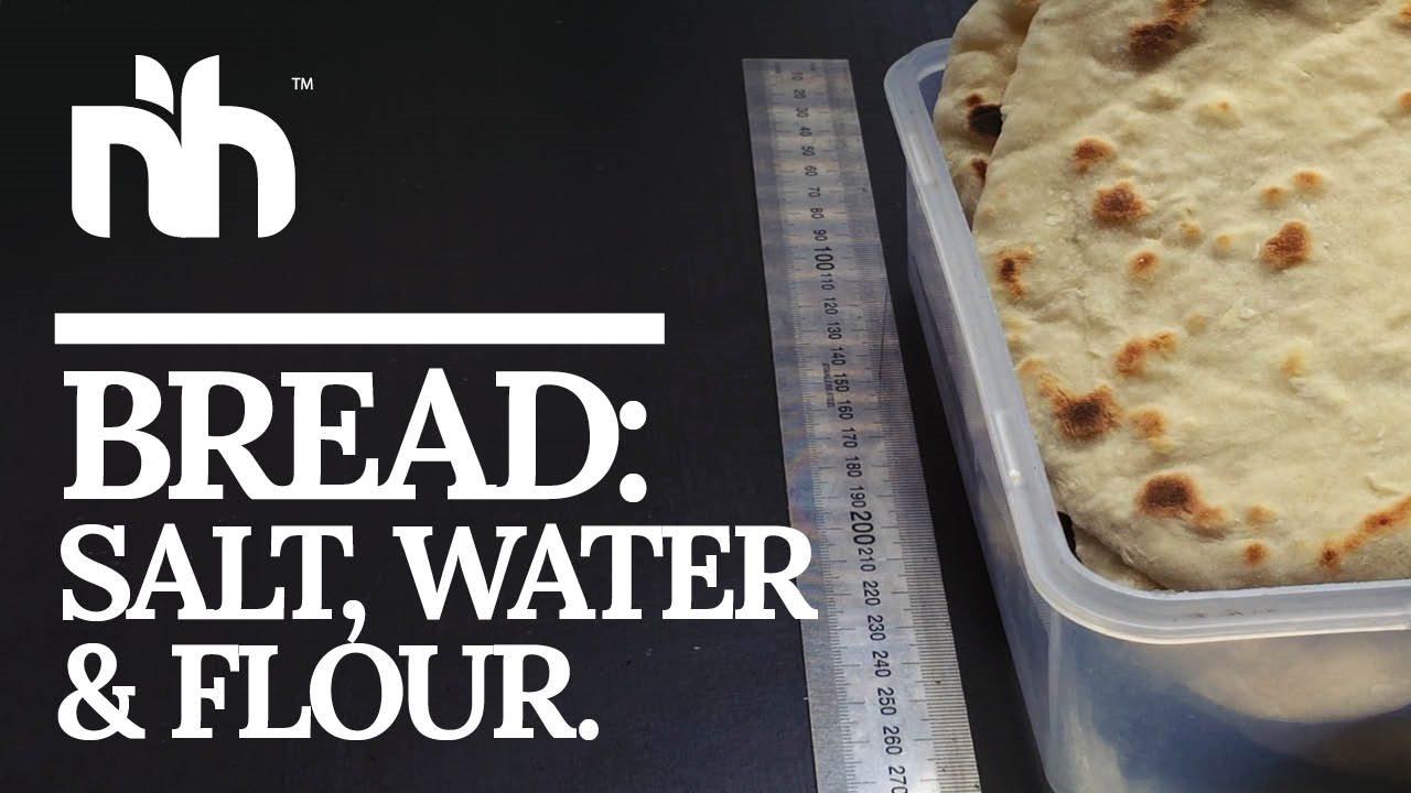 Basic Bread V2 ~ Salt, Flour, Water.